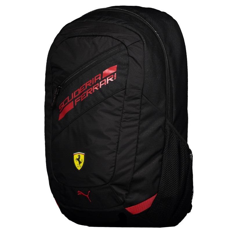 c1b167472 Mochila Puma Scuderia Ferrari Fanwear Preto - R$ 219,90 em Mercado Livre