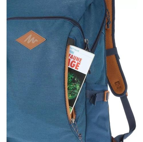 mochila quechua trekking nh 20 litros azul