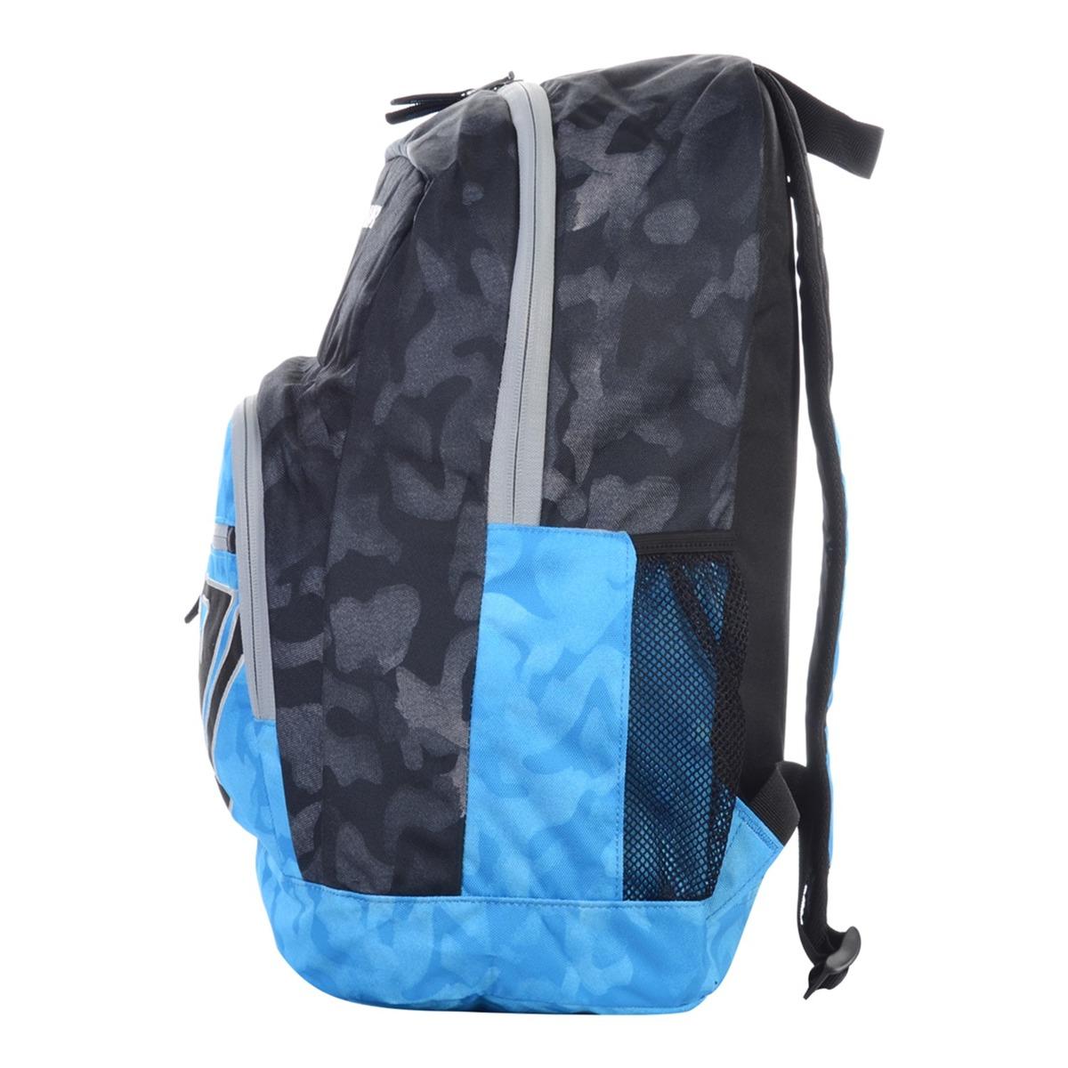 Mochila Quiksilver Pr Shoolie Imp 25l Azul - R  239,90 em Mercado Livre 56bc466231