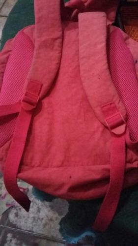 mochila rb rosa original