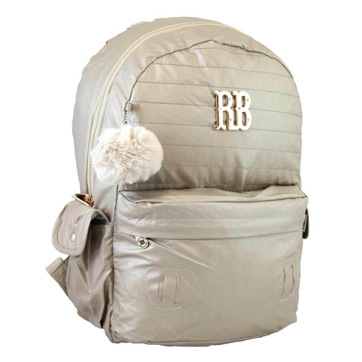 446b9be53 mochila rebecca bonbon notebook 15 metalizada escolar b9269. Carregando  zoom.