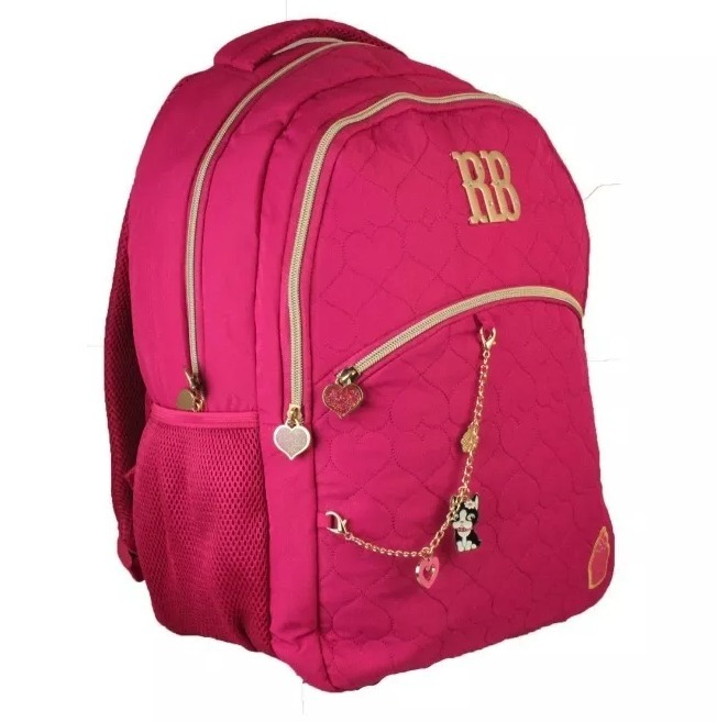 9a8b56836 Mochila Rebecca Bonbon Rosa Escolar Juvenil Laptop 8175 Clio - R ...