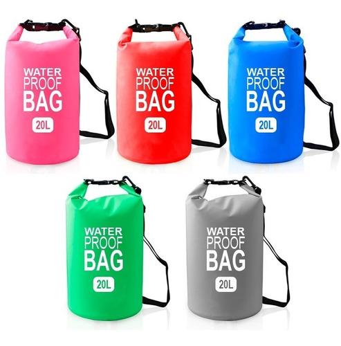 mochila resistente agua bolsa waterproof premium 20 litros