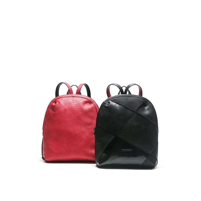 529739d9339 Mochila Reversible De Mujer Desigual Madeira Cougar Negro - S  292 ...
