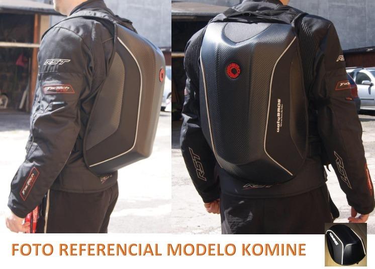 f99ffdda Mochila Rígida Para Moto Komine - $ 64.990 en Mercado Libre
