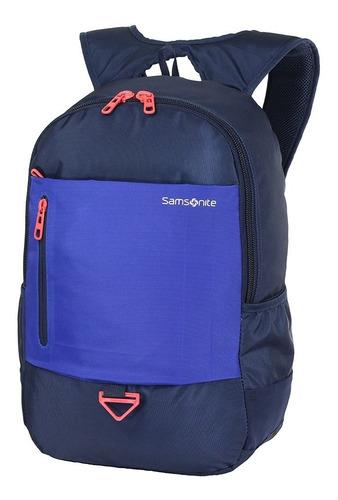 mochila rock azul samsonite