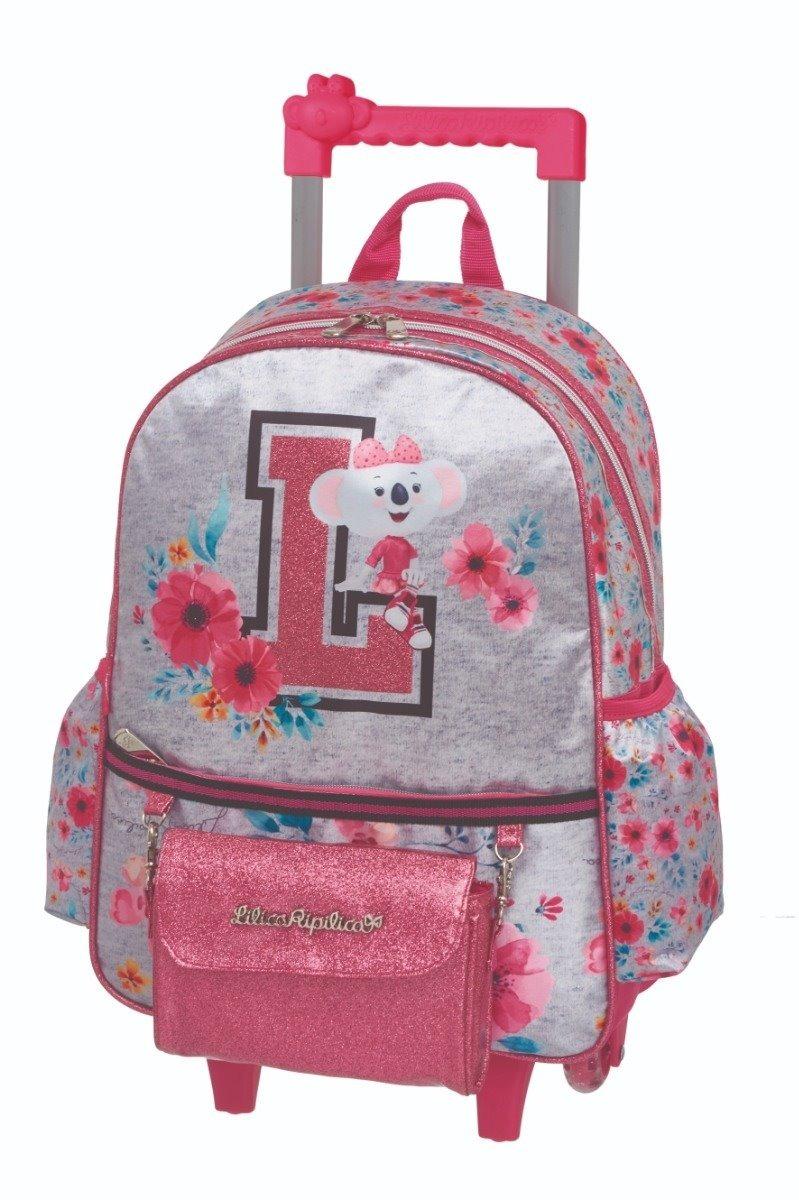 1c9b009cf5333 mochila rodinha escolar lilica ripilica college 2019 barata. Carregando zoom .