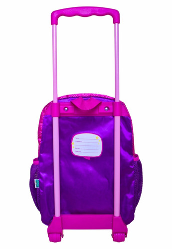 mochila rodinhas feminina chiquititas infantil muito linda