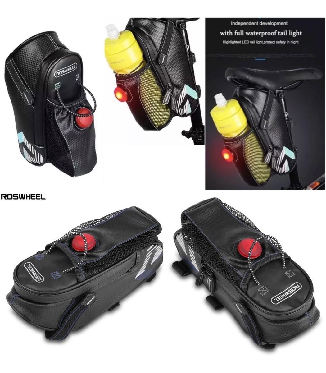 def06a32554 mochila roswheel porta herramienta anfora luz bicicleta. Cargando zoom.