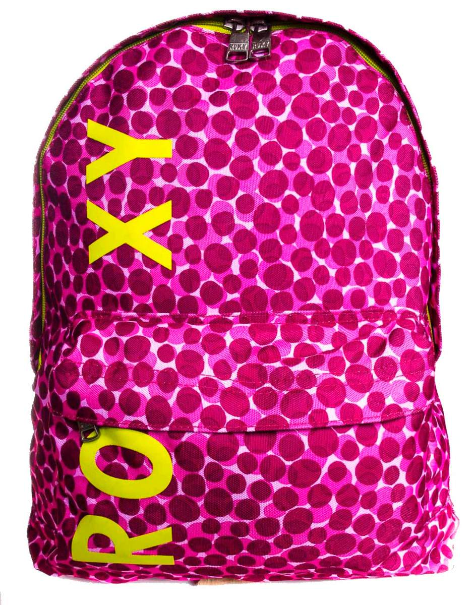 f446e7874 Mochila Roxy Sugar Baby Dot On Dots Rosa - R$ 149,90 em Mercado Livre