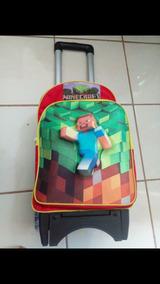 llegando calidad asombrosa brillo encantador Mochila Ruedas Minecraft ( Videojuego) Estampado 3d Primaria