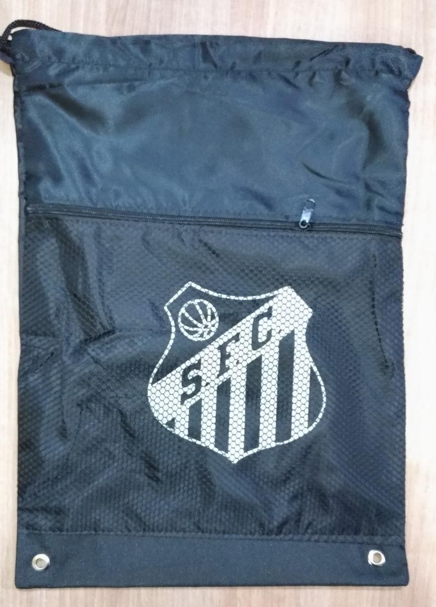 Mochila Saco De Chuteira Time Futebol Santos F. C. Peixe - R  20 c73c87f23f8c5
