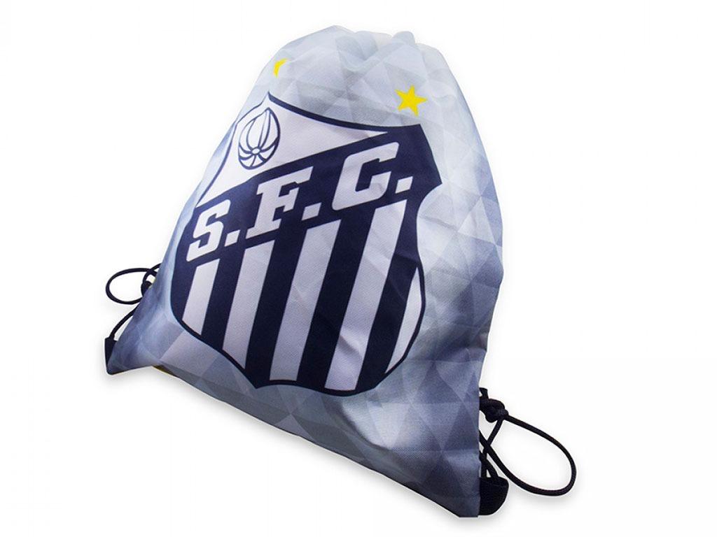Mochila Saco De Esportes Guarda Chuteira - Santos Fc - R  14 5b375382003ba