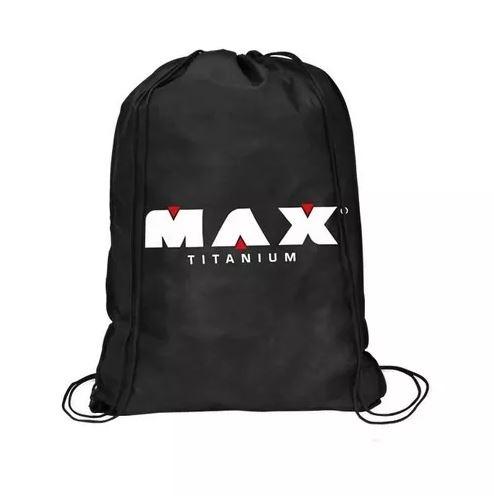 fe501c98d Mochila Saco Em Tnt Preta Bolsa Unissex - Max Titanium - R  13