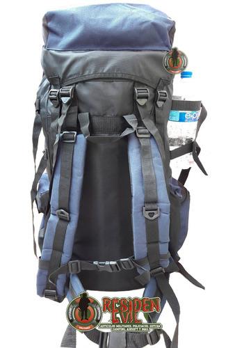 mochila saco viaje campamento pesca alpinismo excursión 60 l