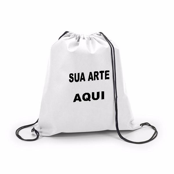 58d144f0c5d8a Mochila Sacola Gym Bag Academia