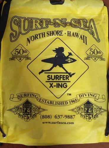 mochila sacola hawaii # pronta entrega #