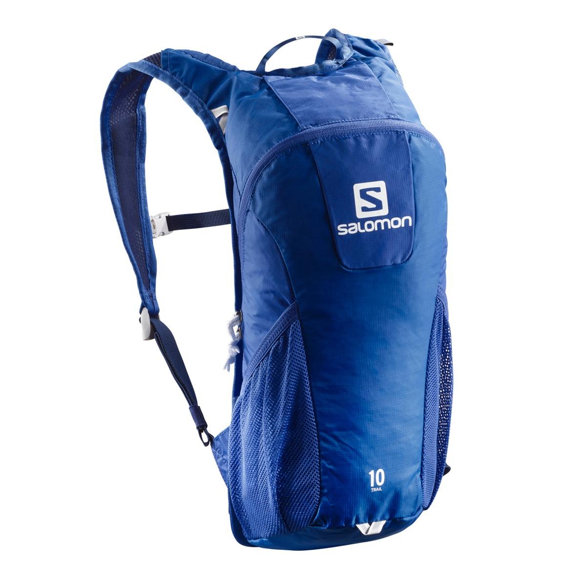 ddebe5a66f2 Mochila Salomon Trail 10 Azul Trail Running - $ 2.370,00 en Mercado ...
