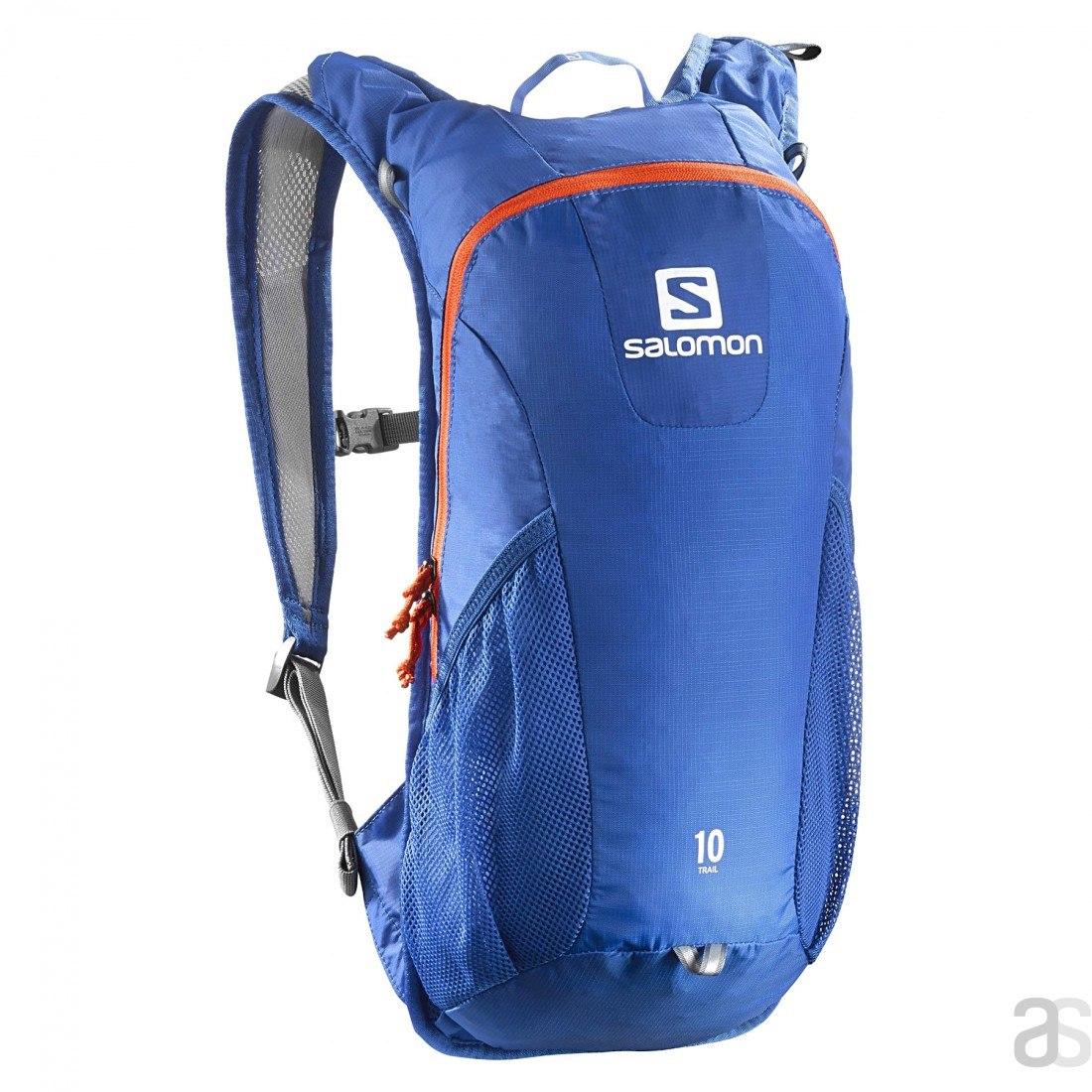 08116a66e53 Mochila Salomon Trail 10 Azul/naranja - $ 1.300,00 en Mercado Libre