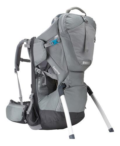 mochila sapling child carrier preto/cinza - thule