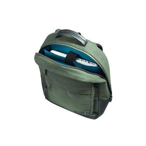 mochila saxoline city laptop mochila 652 verde
