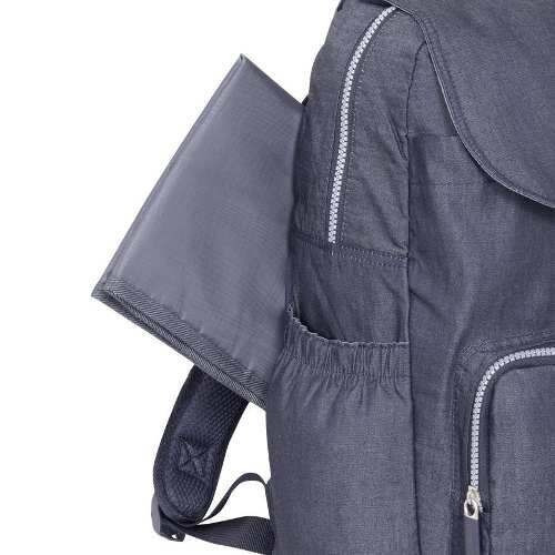 mochila saxoline maternity pro sport jeans azul