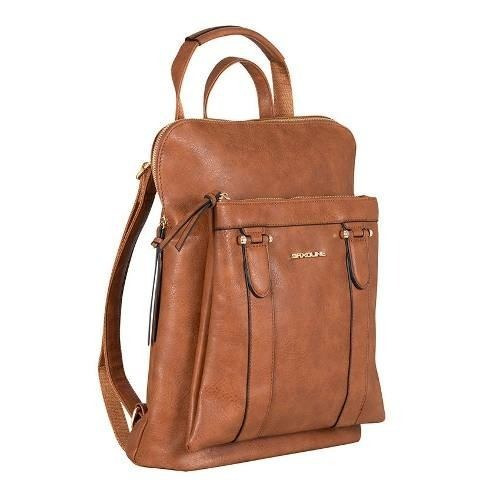 mochila saxoline office 698 camello