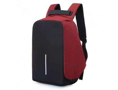 mochila seguridad antirrobo + cargador powerbank  / fernapet