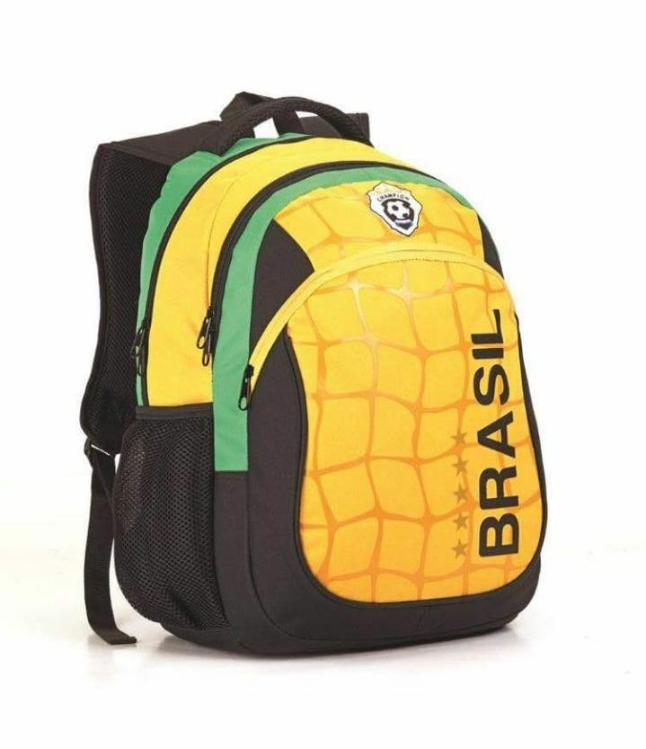 Mochila Seleção Brasileira Copa Do Mundo Resistente Nova - R  39 8b43c414f2690