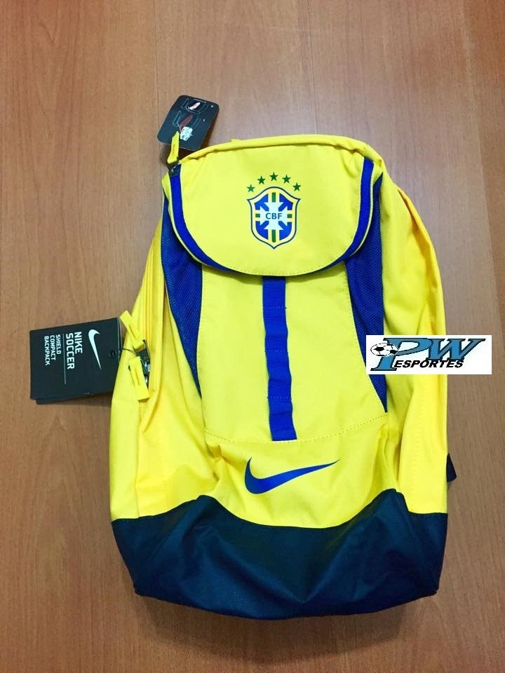 mochila seleção brasileira nike oficial só r 169. Carregando zoom. 54f0c09e50e75