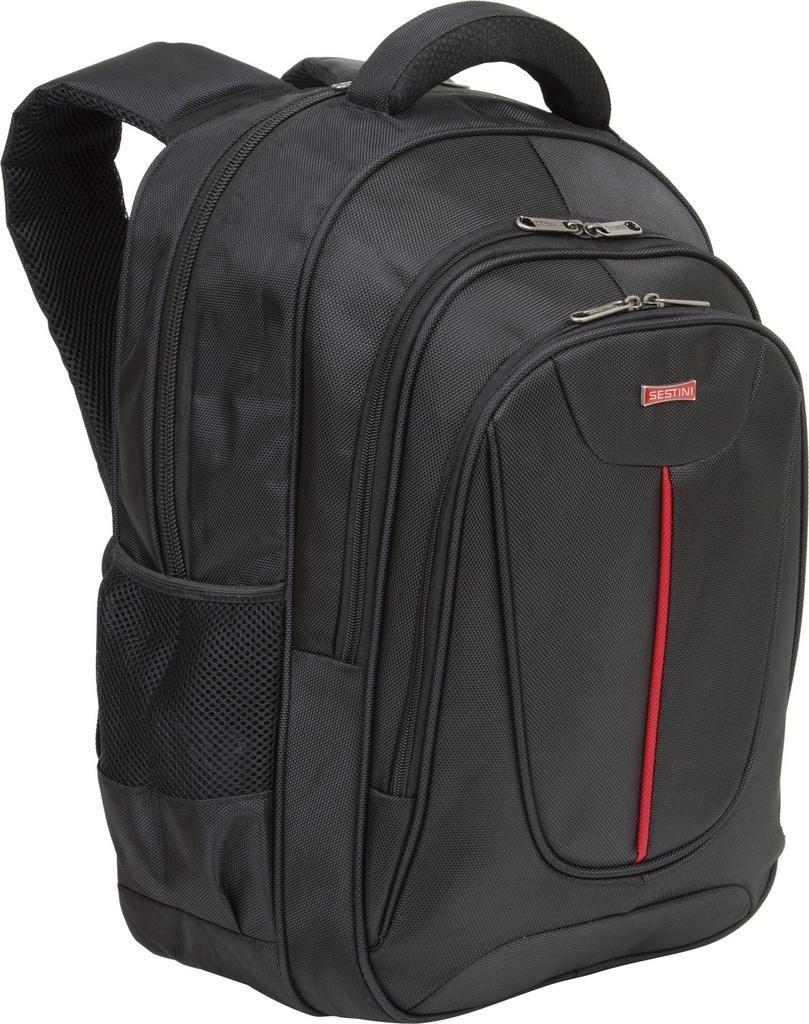 8e007ac985 Mochila Sestini Para Notebook Blaze Preta 2 Compartimentos - R  284 ...