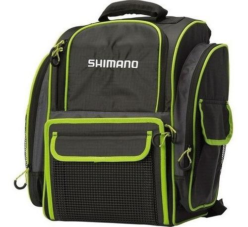 mochila shimano back pack lug 1511 com 4 estojos