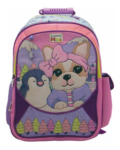 mochila simones escolar espalda 18 pulgadas primaria