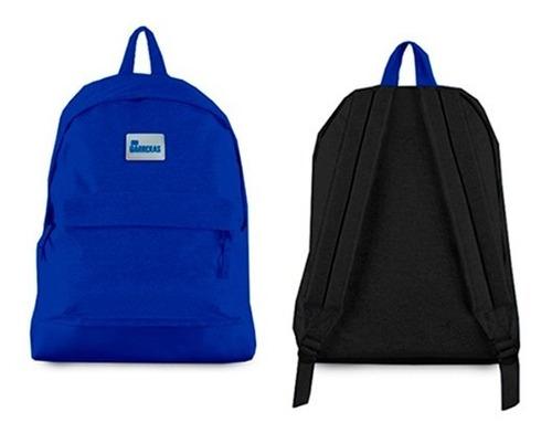 mochila sin barreras - azul
