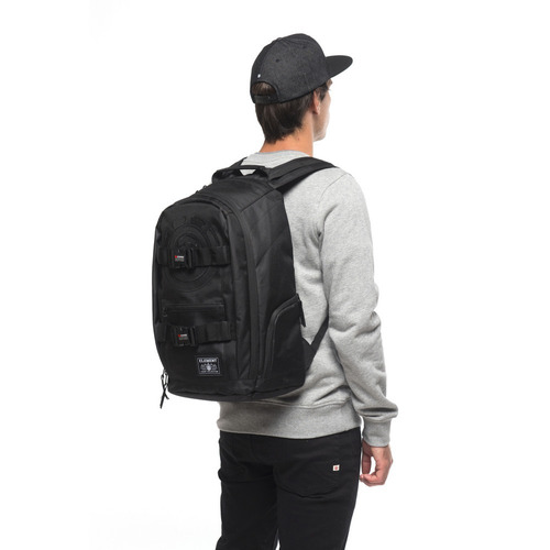 mochila skate element all black original