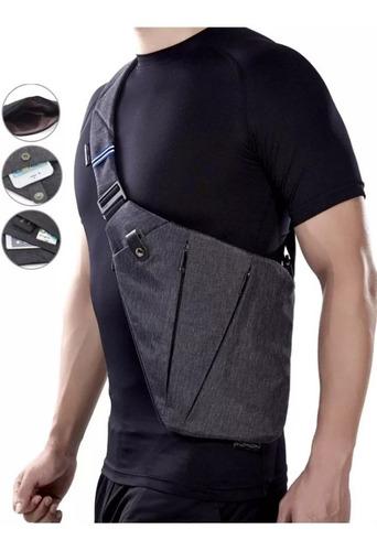 mochila sling cruzada hombro antirrobo oculta hipster viajes