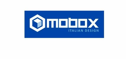 mochila smart mobox p/ notebook 15.6/ tablet negro gris azul