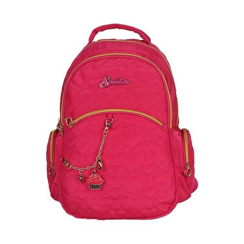 mochila spector rosa g acompanha chaveiro - 5242