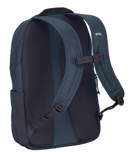 mochila stm refugio para laptop para 15 -inchy tableta - azu
