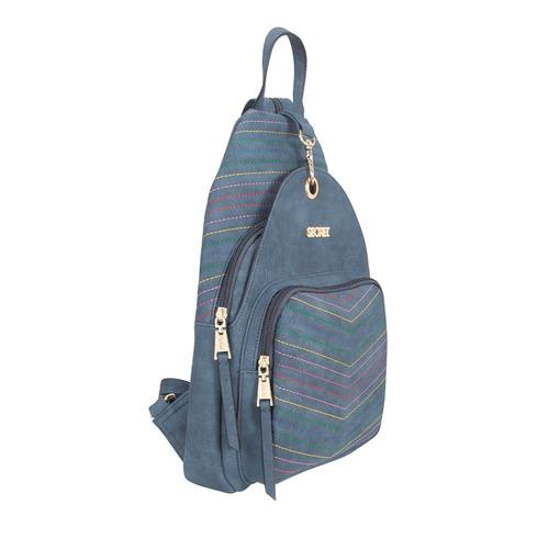 mochila suecia fw19 backpack m blue secret