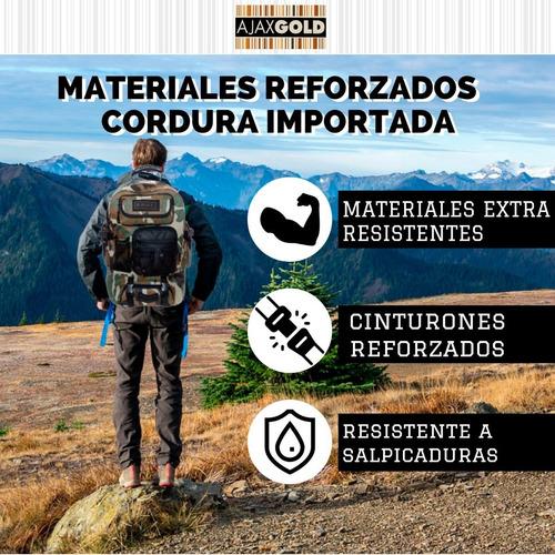 mochila tactica asalto militar 30 lts trekking seguridad