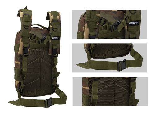 mochila tactica asalto militar patrulla trekking seguridad mochilero bolso camping gran capacidad uso diario