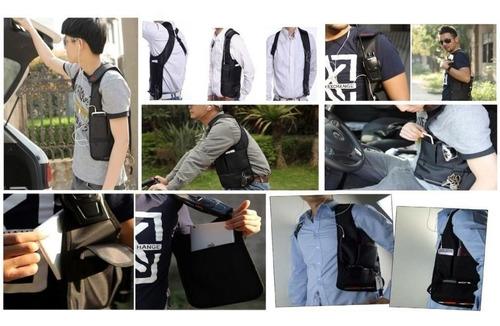 mochila tactica de brazo seguridad tipo agente