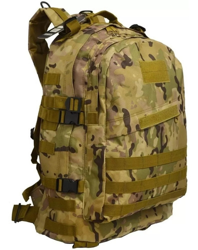 mochila táctica militar asalto 30l calidad premium camuflada
