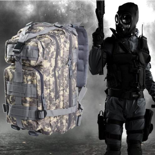 mochila táctica militar-impermeable