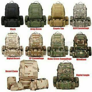 mochila tactica militar outdoor ejercito 65tls ( online)