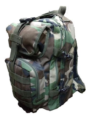 mochila tactica modular patrulla 35 lts