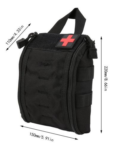 mochila táctica primeros auxilios
