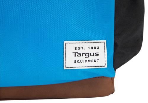 mochila targus 15,6 strata pro negro/azul tsb936gl