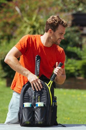 mochila targus 15,6 work & play raquetas tsb943